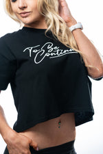 TBC Crop Tee - Midnight