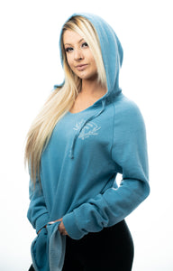 Cozy All Day Hoodie - Misty Blue