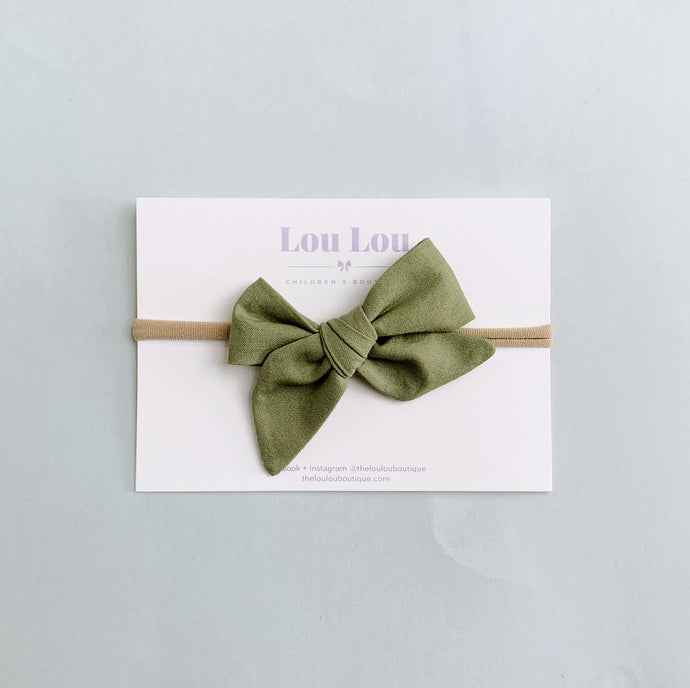 Olive - Polly Bow