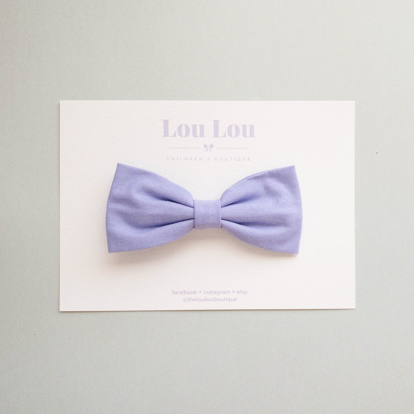 Lilac - Milly Bow