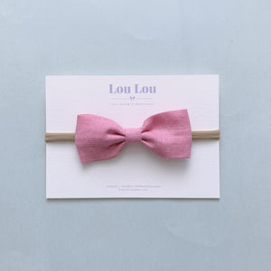 Cloudy Pink - Milly Bow