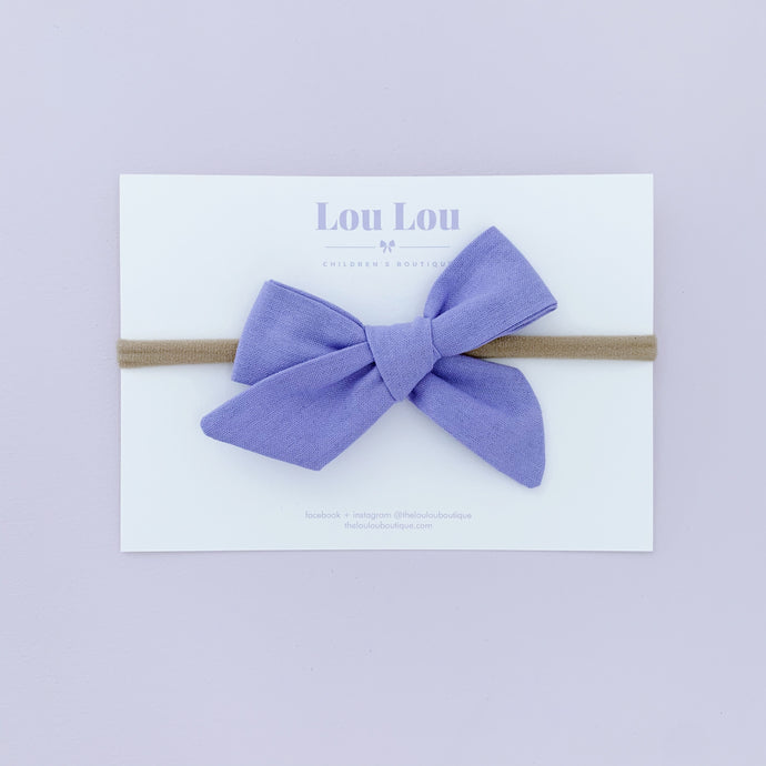 Lilac - Polly Bow
