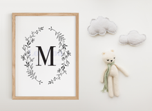 Load image into Gallery viewer, M || Nursery Print || digital download