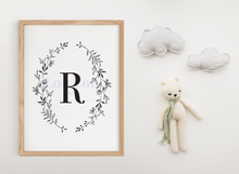 Load image into Gallery viewer, R || Nursery Print || digital download