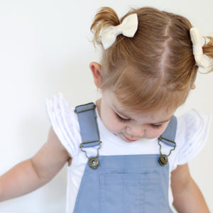Milk Linen - Mini Milly Bow