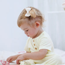 Load image into Gallery viewer, Milk Linen - Mini Milly Bow