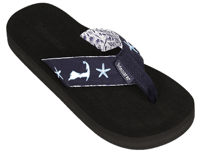 Cape Shells - Tidewater Sandals | Voted Most Comfortable Sandals