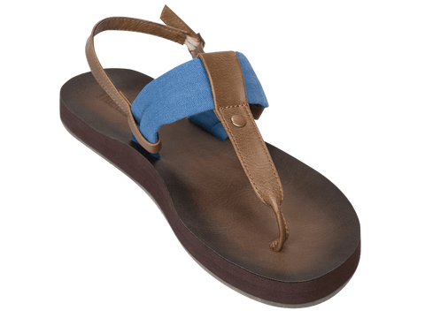 Montauk Blue - Tidewater Sandals | Voted Most Comfortable Sandals