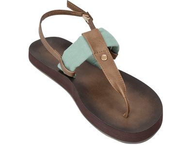 Montauk Mint - Tidewater Sandals | Voted Most Comfortable Sandals