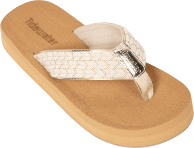 Seersucker Gold - Tidewater Sandals | Voted Most Comfortable Flip Flops