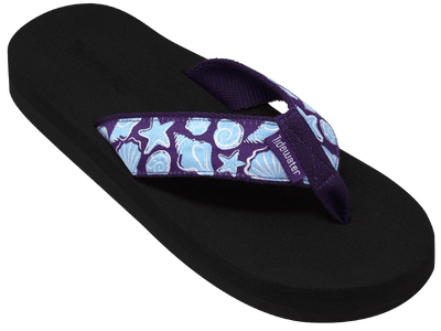 Purple Shells - Tidewater Sandals | Voted Most Comfortable Flip Flops