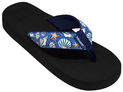 Blue Shells - Tidewater Sandals | Voted Most Comfortable Flip Flops