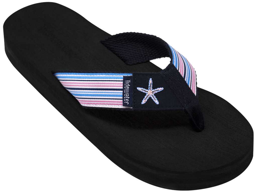 Starfish Stripes - Tidewater Sandals | Voted Most Comfortable Flip Flops