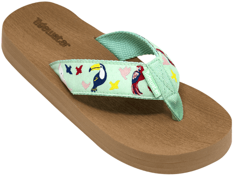 Tropical Birds - Tidewater Sandals | Voted Most Comfortable Sandals