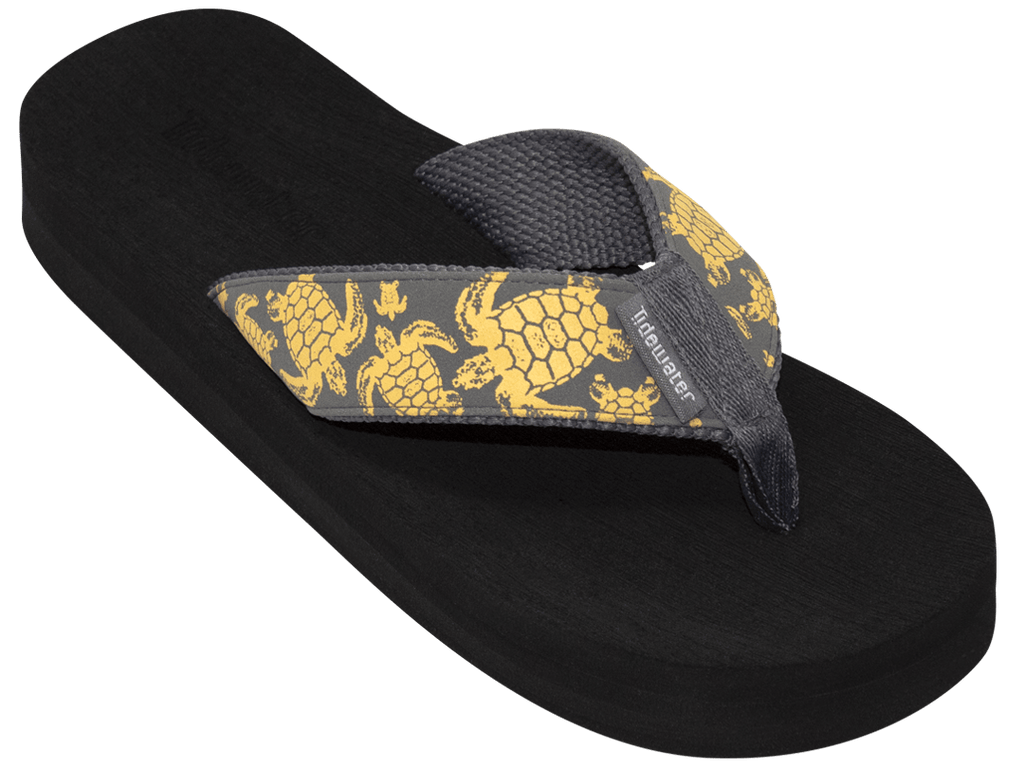 Yellow Turtle - Tidewater Sandals | Voted Most Comfortable Flip Flops