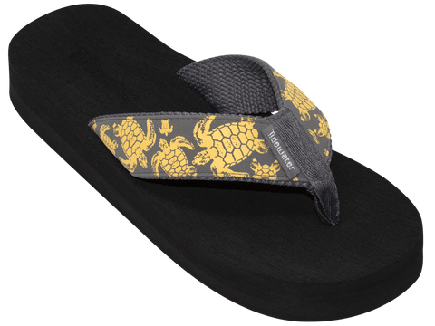 Yellow Turtle - Tidewater Sandals | Voted Most Comfortable Sandals
