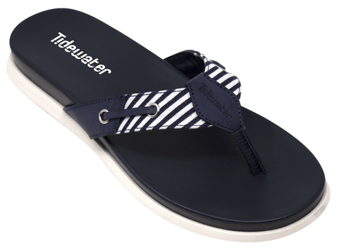 Spinnaker Navy - Tidewater Sandals | Voted Most Comfortable Sandals