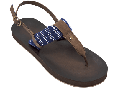 Montauk Navy Stripe - Tidewater Sandals | Voted Most Comfortable Sandals