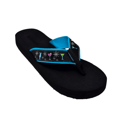 Glamour Cocktail - Tidewater Sandals | Voted Most Comfortable Flip Flops