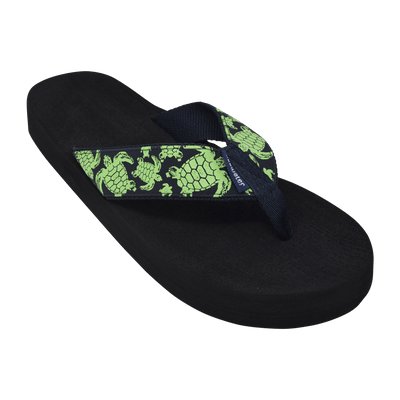 Green Turtle - Tidewater Sandals | Voted Most Comfortable Flip Flops