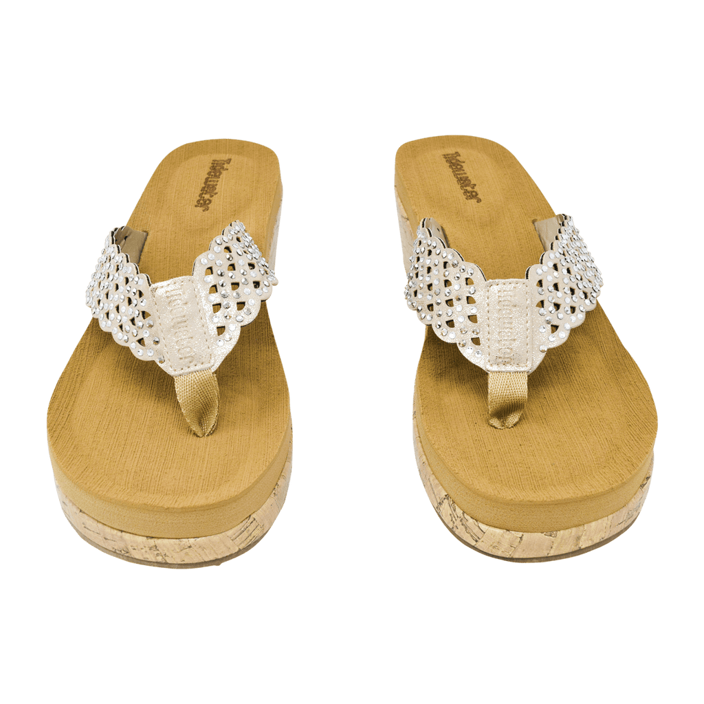 Kiawah Gold - Tidewater Sandals | Voted Most Comfortable Flip Flops