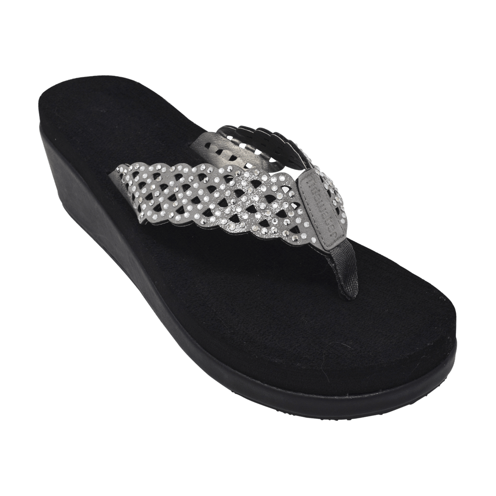 Kiawah Pewter - Tidewater Sandals | Voted Most Comfortable Flip Flops