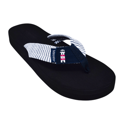 Lighthouse Stripes - Tidewater Sandals | Voted Most Comfortable Flip Flops
