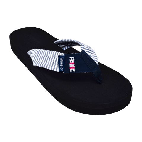 Lighthouse Stripes - Tidewater Sandals | Voted Most Comfortable Sandals