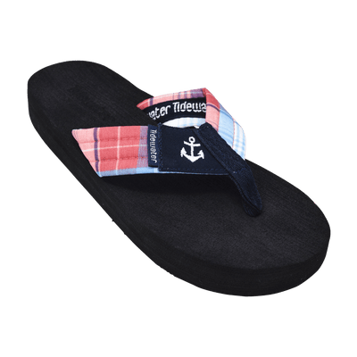 Madras Anchor - Tidewater Sandals | Voted Most Comfortable Flip Flops