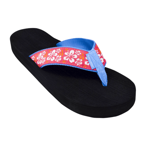Pink Hibiscus - Tidewater Sandals | Voted Most Comfortable Sandals