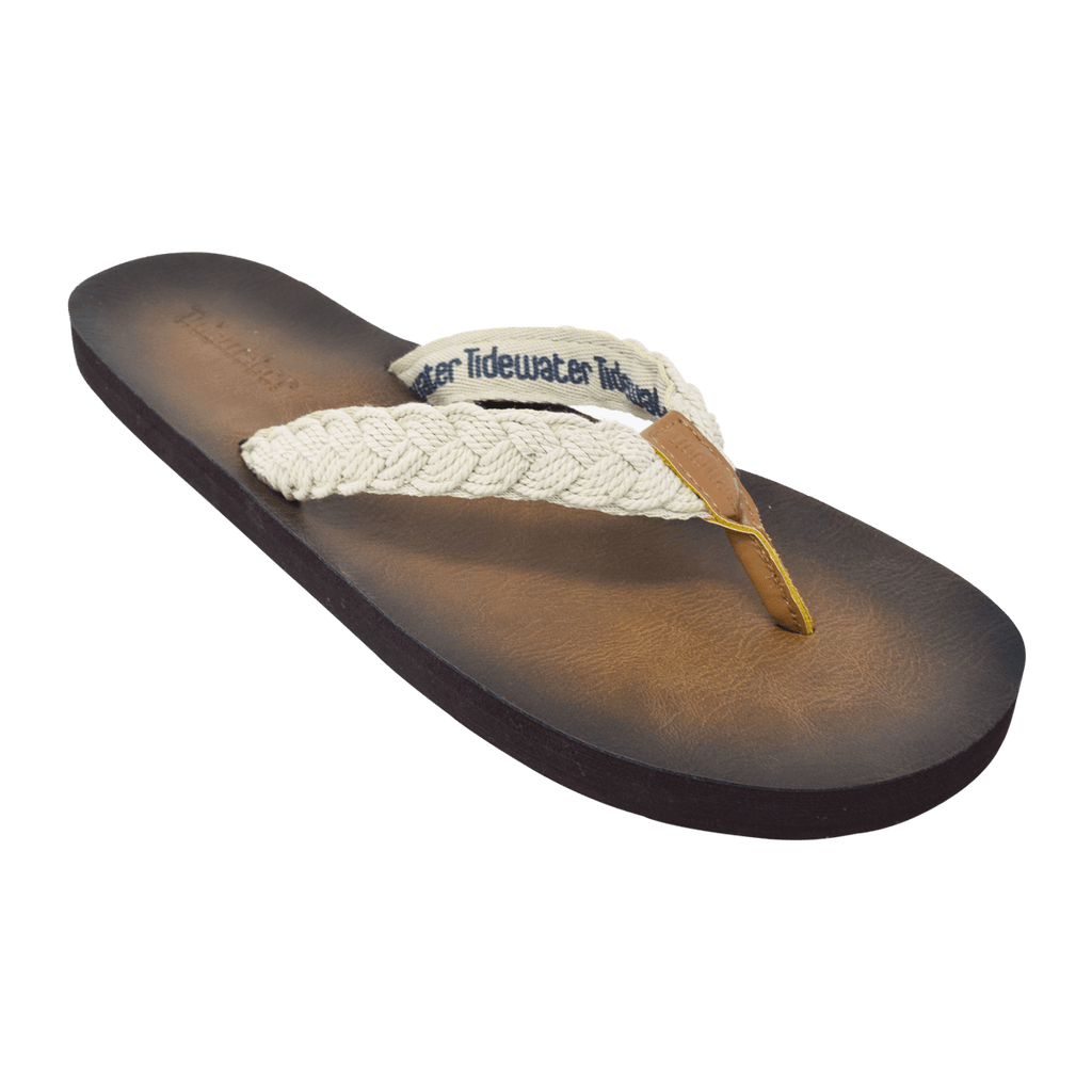 Tallulah Cream - Tidewater Sandals | Voted Most Comfortable Flip Flops