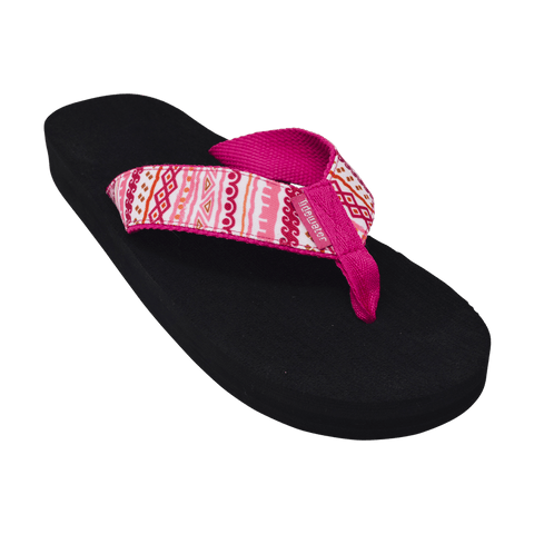 Tribal Pink - Tidewater Sandals | Voted Most Comfortable Sandals