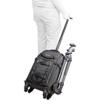 Trolley y mochila en movimiento Vanguard Alta Fly 55T