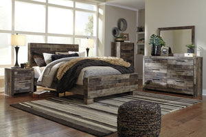 Derekson 6 Piece Bedroom Suite
