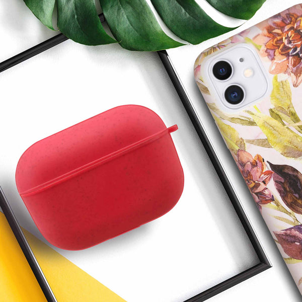 Red AirPod Pro Eco-Friendly Case