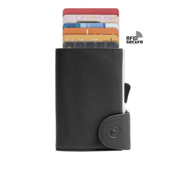 Cheshire Automatic Card Storage Wallet Black