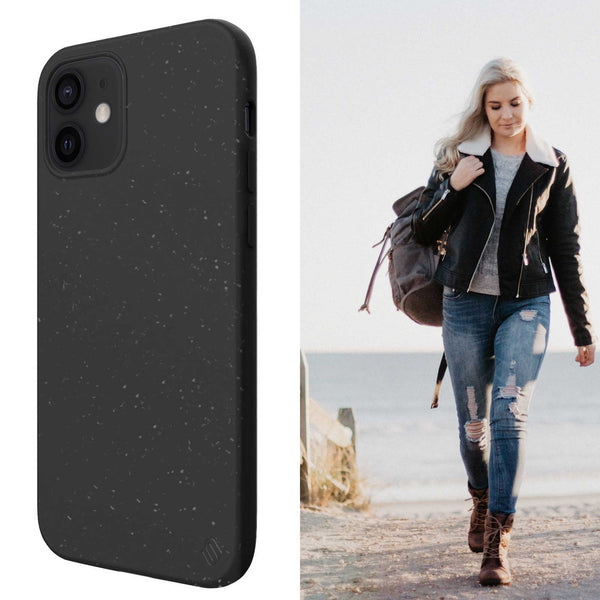 Eco Friendly Black iPhone 12 Case