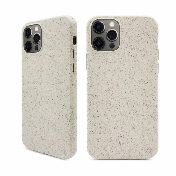 Eco Friendly White iPhone 12 Pro Case