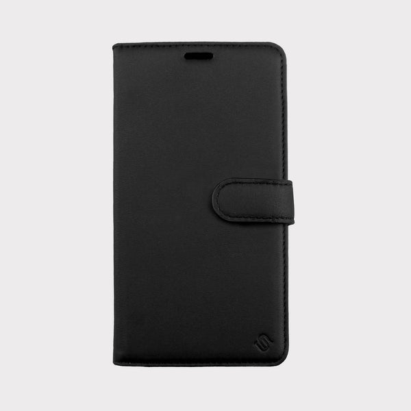 Black Genuine Leather Case