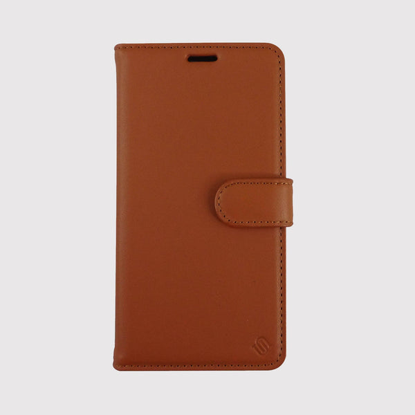 Brown Genuine Leather Phone Case