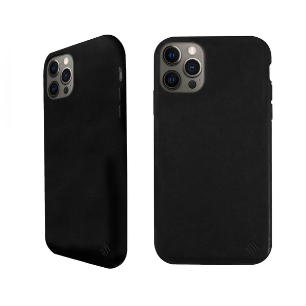 Eco Friendly Leather Black iPhone 12 Pro Max Case