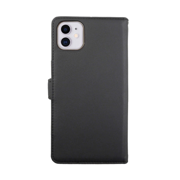 Eco Leather Black/Red iPhone 11 Case