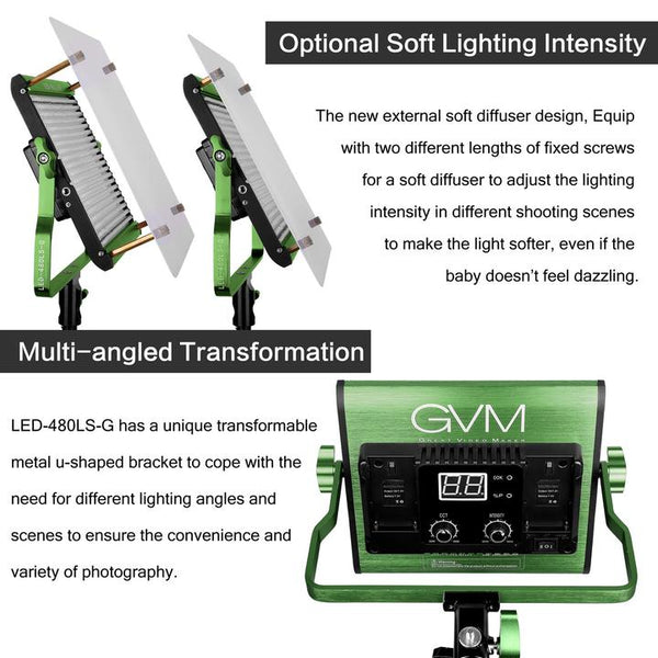 GVM 480LS LED Video Light