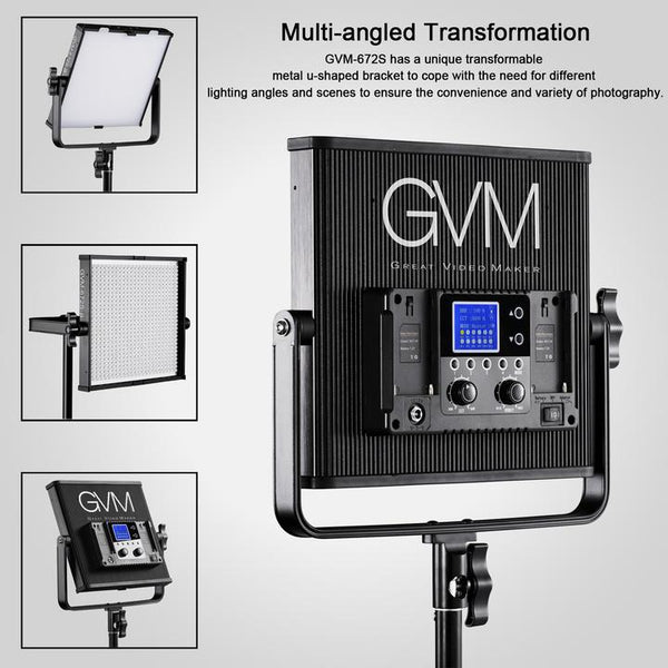 GVM 672S LED Video Light