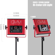Load image into Gallery viewer, GVM-520LS-R Bi-Color Video Light
