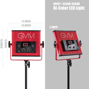 GVM-520LS-R Bi-Color Video Light