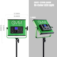 Load image into Gallery viewer, GVM-520S Bi-Color Video Light