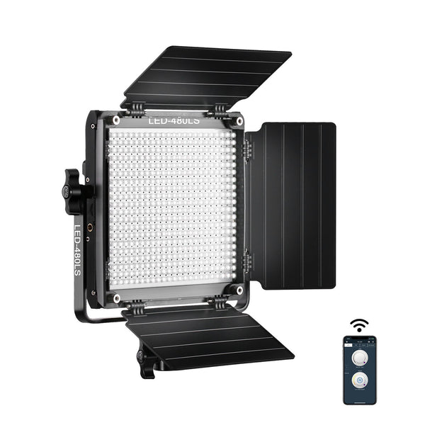 480LS Bi-Color LED Studio Video Light Panel Kit with Smart WiFi Mobile App Control - GVMLED