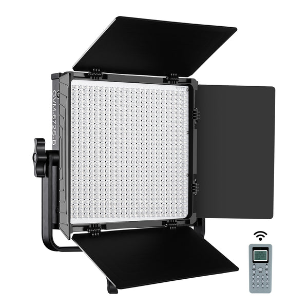 GVM 672S Bi-Color Studio LED Video Light Kit Panel - GVMLED