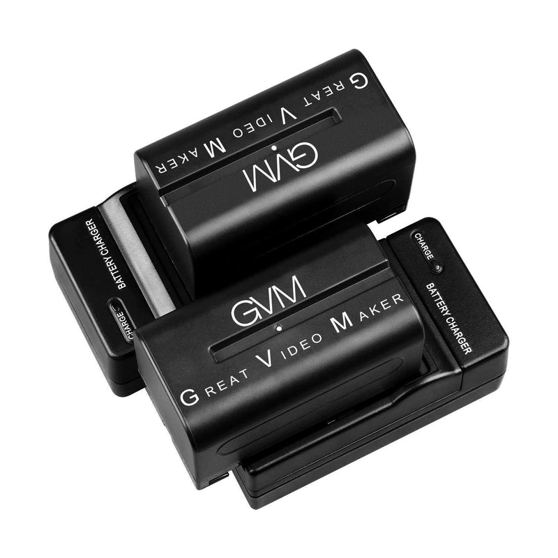 GVM Li-ion NPF 750 Replacement Batteries and Chargers - GVMLED